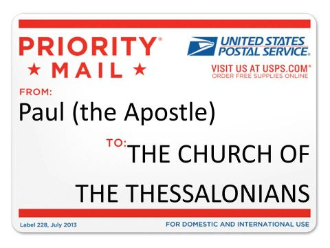 thessalonians USPS